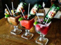 bebidas con cerveza volteada - Buscar con Google