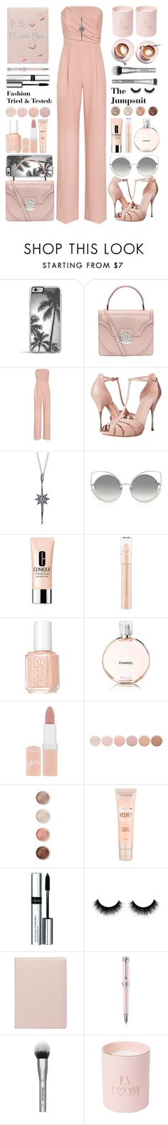 """""""P. S. I Love You"""" by rasa-j ❤ liked on Polyvore featuring Zero Gravity, Alexander McQueen, Reiss, Shay, Marc Jacobs, Clinique, Essie, Rimmel, Deborah Lippmann and Terre Mère"""
