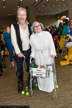 Han Solo and Princess Leia Organa #ATAT   Emerald City Comicon 2015 #DTJAAAAM