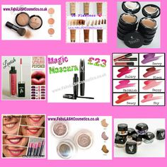 Perfect gifts for any occasion!! www.FabuLASHCosmetics.co.uk