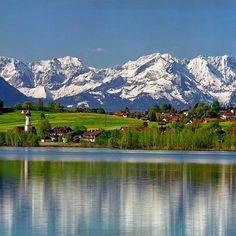 Photos de Bavière - Le lac Riegsee Guido Haase - www.pix-bavaria.de/