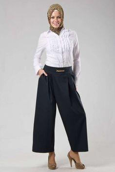 Kapalı Bayanlar İçin Pantolon Modelleri