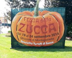 2014 Festa della Zucca  - Pumpkin Festival,  Sept. 19-24, in Ghizzole (Montegaldella), about nine miles southeast of Vicenza; pumpkin exhibit and sale; food booths open at 7 p.m. Sept. 20: 9:45 pumpkin carving workshops; 3 p.m. donkey rides for children; 9 p.m. live music and dancing Sept. 21: vintage agricultural vehicles exhibit; old trades show; 9 p.m. live music https://www.facebook.com/pages/AMICI-DELLA-ZUCCA-Ghizzole-di-Montegaldella/576163349112030