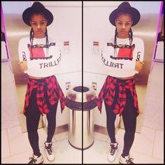 teyana taylor, outfit, beautiful