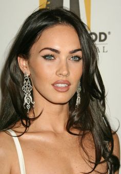 Megan Fox - I think women with dark hair and light eyes are the most stunning.