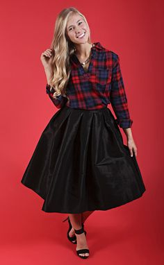 "talk of the town pleated skirt - black -- get 15% off + Free Shipping w/code ""RiffraffRepLauren"" at checkout on ShopRiffraff.com!"