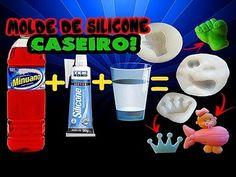 Como fazer molde de silicone Caseiro flexível de Biscuit - #3 - YouTube