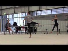 ▶ Rhythmic Gymnastics Training @ Prahran Rhythmic Gymnastics - YouTube