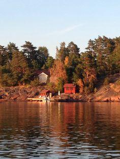 Swedish summer house, Loftahammar, Småland.
