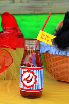 Wizard of Oz themed party details-- my next party is going to be wizard of oz