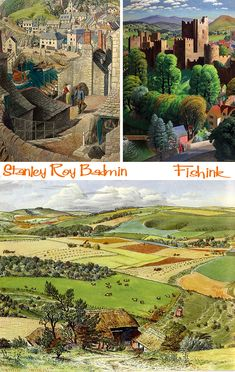 Stanley Roy Badmin Painting Britain in the 1930's |