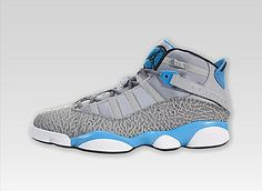 Air Jordan 6 Rings(Wolf Grey/Black/Cool Grey/Dark Powder Blue)  #bestsneakersever.com #sneakers #shoes #nike #airjordan #6rings #style #fashion