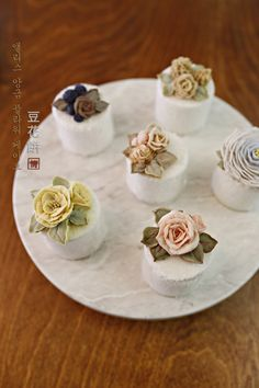 앨리스 앙금플라워떡케이크..가을을 맞은 앙금떡컵케이크 : 네이버 블로그