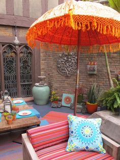 Decorative Patio Umbrellas