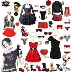Nana Osaki, created by pepperlandpixie on Polyvore