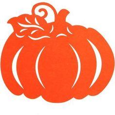 Fall-Themed Felt D¨¦cor Piece Assortment), Pumpkin Template, Leaf Template, Creepy Halloween Props, Halloween Crafts, Fall Fonts, Paper Cut Design, Pumpkin Art, Bird Silhouette, Felt Decorations
