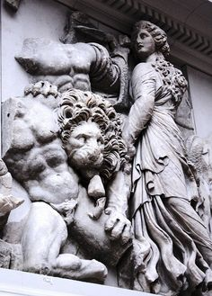 Pergamon Altar 5 by wamcclung, via Flickr