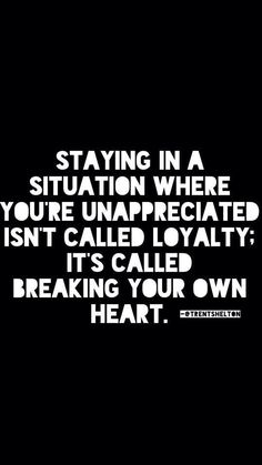 Learned this the hard way. Boy did I learn. But I'm thankful for the lesson and I'm stronger because of it.