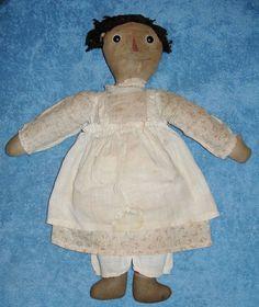 """Rare 1918 Raggedy Ann Doll Gruelle Volland 16"""" #Dolls"""
