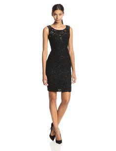 Lace Sheath Dress by Anne Klein