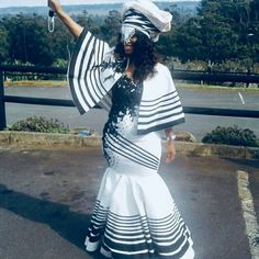 zulu traditional attire African ladies still face not solely widespr Zulu Traditional Attire, South African Traditional Dresses, Traditional Dresses Designs, Traditional Wedding Attire, Traditional Outfits, African Print Wedding Dress, African Wedding Attire, African Attire, African Wear