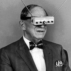 Va a ser que las Gafas 3D no son un invento tan reciente  #felizsabado