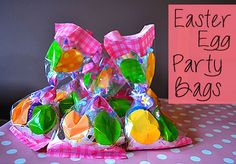 Easter Egg Party Bags