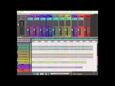 Creating Folders in #Reaper with automatic rename and load plugins (5 of 5) (#workflow) - YouTube