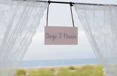 Boda Diego&María. #cartel #wedding #bodas #boda #beauty #beach #playa