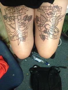 la dispute tattoo
