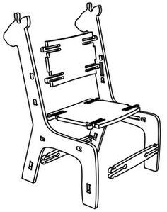 Girafa Clik - ATO Kidz  Cadeira infantil super fácil de montar. Não tem nenhum parafuso!!!