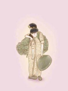descendants of the sun wallpaper Anime Love Couple, Couple Cartoon, Cute Anime Couples, Goblin Korean Drama, Korean Drama Best, Descendants Of The Sun Wallpaper, 22 November, Descendents Of The Sun, Sun Art