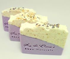 Oatmeal Lavender Cold Process Soap by siaelena on Etsy, $4.00