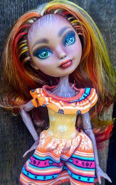 Autumn Aspen custom OOAK Ever After High Cedar Wood Doll by @ladtspoonart