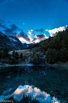 le lac bleu -3 Photos, Mountains, Nature, Travel, Cabin, Blue, Pictures, Naturaleza, Trips