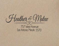 Wedding+Return+Address+++Stamp++Custom++Stamp++Wedding+Rubber+Stamp+Wedding+Stamp++Stamp+Self+Inking+self+inking+return+address+stamp