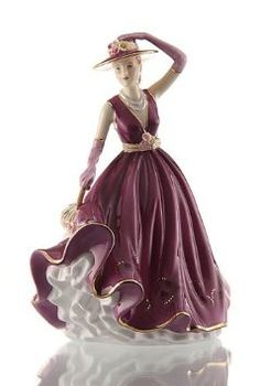 Amazon.com: Royal Doulton Figurine Pretty Ladies Emma 2011 Figurine of the Year: Home & Kitchen