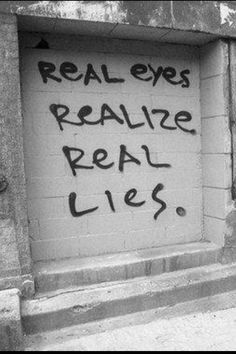 Yes.  Open your real eyes to realize that the GOP tells the real lies.  It's right before your eyes. See.