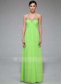 Evening Dresses - $99.99 - Empire Sweetheart Floor-Length Chiffon Evening Dress With Ruffle Beading Sequins (017041062) http://jjshouse.com/Empire-Sweetheart-Floor-Length-Chiffon-Evening-Dress-With-Ruffle-Beading-Sequins-017041062-g41062