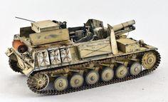 TRACK-LINK / Gallery / 15 cm sIG 33 auf Fahrgestell Panzerkampfwagen II (Sf)
