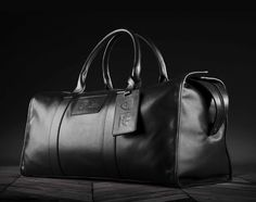 BROOKLYN NETS X ADIDAS ORIGINALS X SCHOTT – LEATHER DUFFLE BAG
