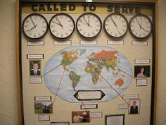 could do this with the countries for everywhere fun fair... pick out missionaries/people from around the globe & give a description of how they love their neighbor