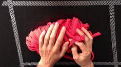 Tutorial IV Cómo tejer un bolso de mano con trapillo