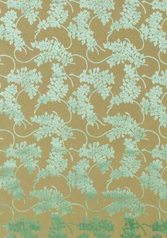 Spring Velvet #woven #fabric in #aqua from the Avalon collection. #Thibaut