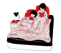 ilustraciones pareja felicidad (16)