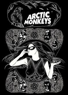 arctic monkeys poster music indie fuck