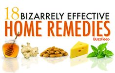 18 Bizarrely Effective Home Remedies