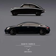 Saab 93 concept