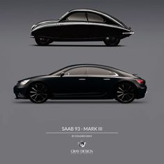 Saab 9-3 Mark III by Eduard Gray