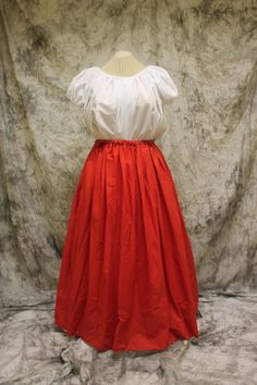 4afdb221d3c8d Red Renaissance Costume-Halloween by SpeedyCostumes on Etsy Adult Costumes